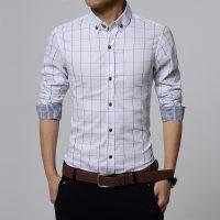 Топ 12 самых популярных мужских рубашек на Алиэкспресс - место 2 - фото 16