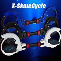 Складной скейтборд Skatecycle X8 двухколесный