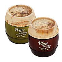 Holika Holika Корейская ночная винная маска желе для лица Wine Therapy Sleeping Mask 120 мл