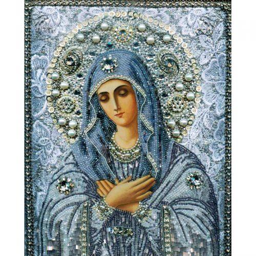 Дешевая алмазная вышивка (мозаика) стразами Икона в наборе