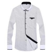 Топ 12 самых популярных мужских рубашек на Алиэкспресс - место 3 - фото 14