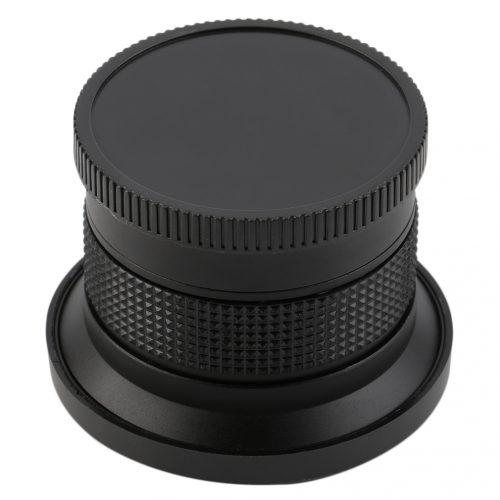 Широкоугольная насадка на объектив рыбий глаз 0.35×58 мм