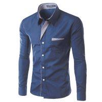 Топ 12 самых популярных мужских рубашек на Алиэкспресс - место 1 - фото 16