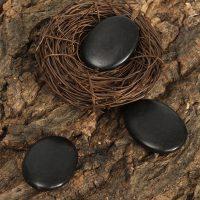 Базальтовые камни для стоун массажа 12 шт.