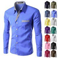 Топ 12 самых популярных мужских рубашек на Алиэкспресс - место 1 - фото 1