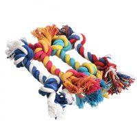 Игрушка для собак Канат-веревка с 2 узлами