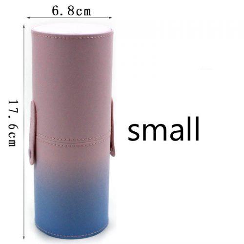 Тубус пенал чехол для кистей для макияжа (2 размера)