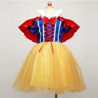 Детский костюм платье Белоснежки для девочек
