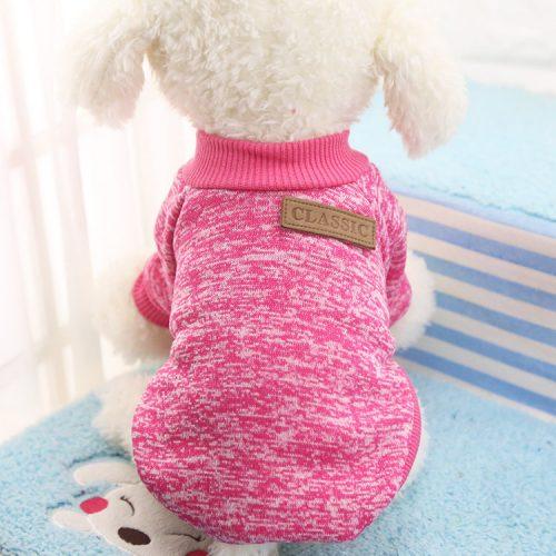 Теплый свитер одежда для маленькой собаки, чихуахуа