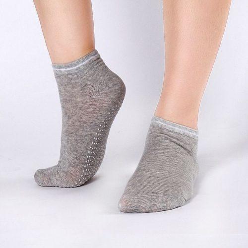 Женские противоскользящие носки для фитнеса, йоги, спорта