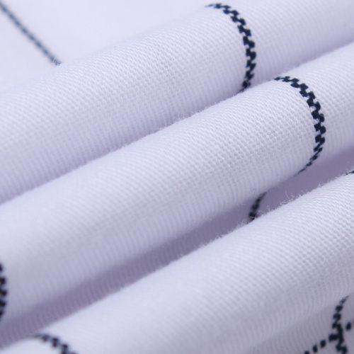 Мужская модная приталенная рубашка в клетку с длинными рукавами