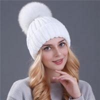 Топ 20 самых популярных женских шапок на Алиэкспресс в России 2017 - место 1 - фото 7