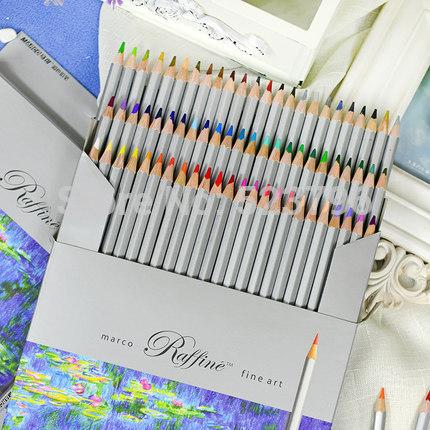 Marco Raffine Цветные карандаши твёрдостью H в наборе 24/36/48/72 шт.