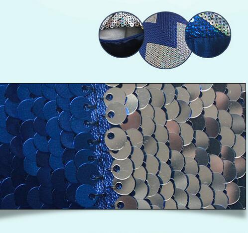 Декоративные наволочки на подушки 40х40 см с двусторонними пайетками, на которых можно рисовать