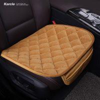 Плюшевые мягкие дышащие подушки на сиденья автомобиля