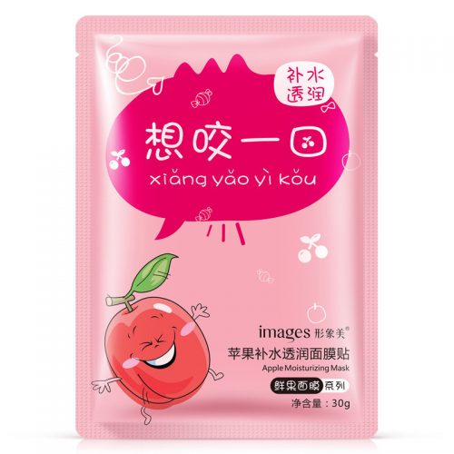 Тканевая маска для лица с экстрактами фруктов