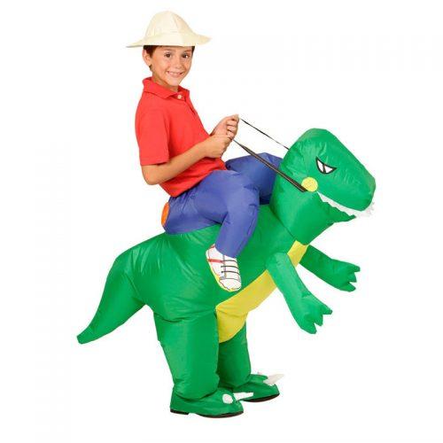 Надувные костюмы единорога, утки, пикачу, динозавра, коня для взрослых и детей