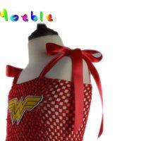 Детские платья супергероев без рукавов для девочек