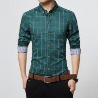 Топ 12 самых популярных мужских рубашек на Алиэкспресс - место 2 - фото 17