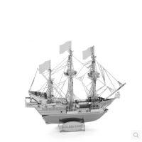 Металлический объемный 3D пазл-конструктор головоломка для детей и взрослых Корабли