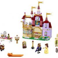 Конструктор для детей Заколдованный замок Белль (Красавица и Чудовище)