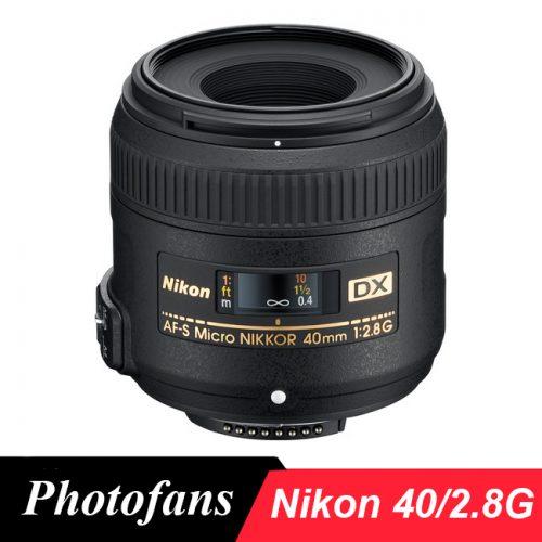 Объектив Nikon 40 2.8 DX Micro NIKKOR