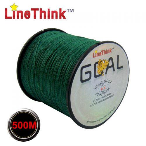 Леска рыболовная плетеная 500 м 8-120LB