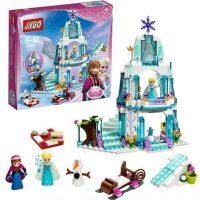 Конструктор для детей Ледяной замок Эльзы (Холодное сердце) с коробкой или без 316 деталей