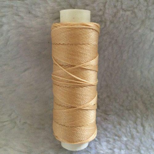 Вощеная швейная нить для кожи 0.45 мм 50 м