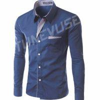 Топ 12 самых популярных мужских рубашек на Алиэкспресс - место 1 - фото 3
