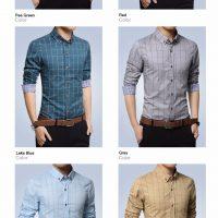 Топ 12 самых популярных мужских рубашек на Алиэкспресс - место 2 - фото 13