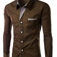 Топ 12 самых популярных мужских рубашек на Алиэкспресс - место 1 - фото 7