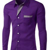 Топ 12 самых популярных мужских рубашек на Алиэкспресс - место 1 - фото 9