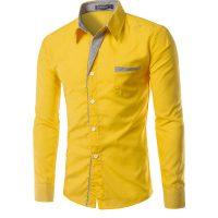 Топ 12 самых популярных мужских рубашек на Алиэкспресс - место 1 - фото 2