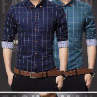 Топ 12 самых популярных мужских рубашек на Алиэкспресс - место 2 - фото 12