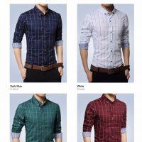 Топ 12 самых популярных мужских рубашек на Алиэкспресс - место 2 - фото 14