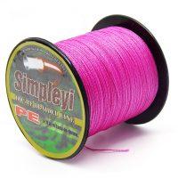 Леска рыболовная плетеная 100 м 6-100LB