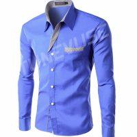 Топ 12 самых популярных мужских рубашек на Алиэкспресс - место 1 - фото 5