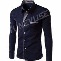Топ 12 самых популярных мужских рубашек на Алиэкспресс - место 1 - фото 4