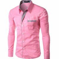 Топ 12 самых популярных мужских рубашек на Алиэкспресс - место 1 - фото 11