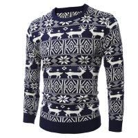 Женские и мужские новогодние свитера с оленями на Алиэкспресс - место 4 - фото 3
