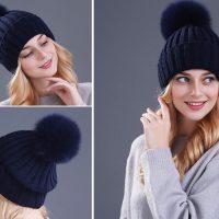 Топ 20 самых популярных женских шапок на Алиэкспресс в России 2017 - место 1 - фото 6