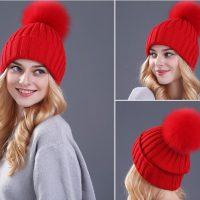 Топ 20 самых популярных женских шапок на Алиэкспресс в России 2017 - место 1 - фото 12