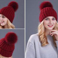 Топ 20 самых популярных женских шапок на Алиэкспресс в России 2017 - место 1 - фото 3