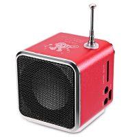 TD-V26 Портативная беспроводная колонка радиоприемник Micro SD/TF/USB/FM