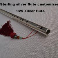 Серебряная флейта из стерлингового серебра
