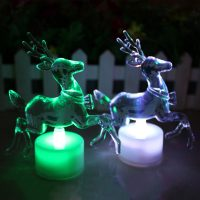 Новогодняя светодиодная лампа Олень