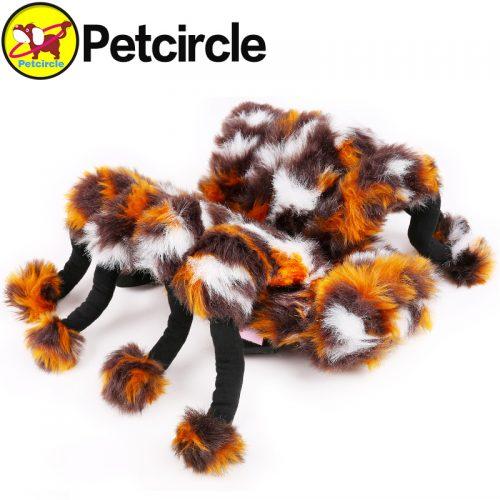 Пушистый костюм паука для собаки (3 размера)