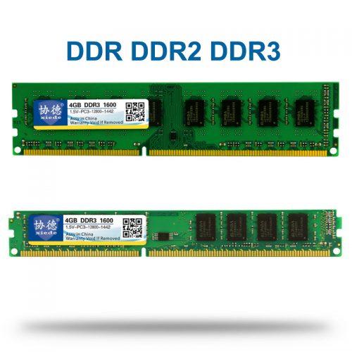 Оперативная память DDR1 DDR2 DDR3 4-8 gb