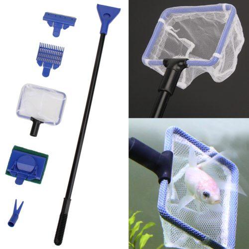 Инструменты для чистки аквариума 5 шт.